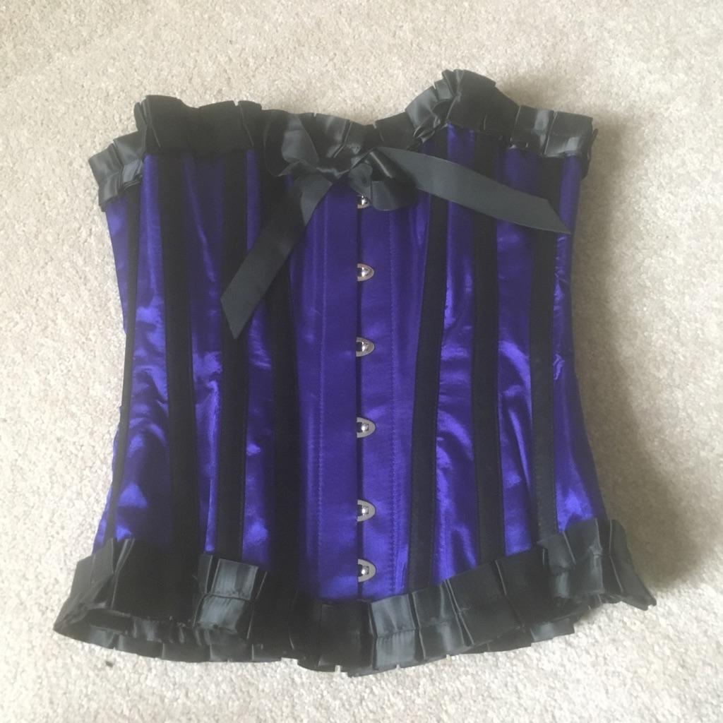 Stunning steel bones corset
