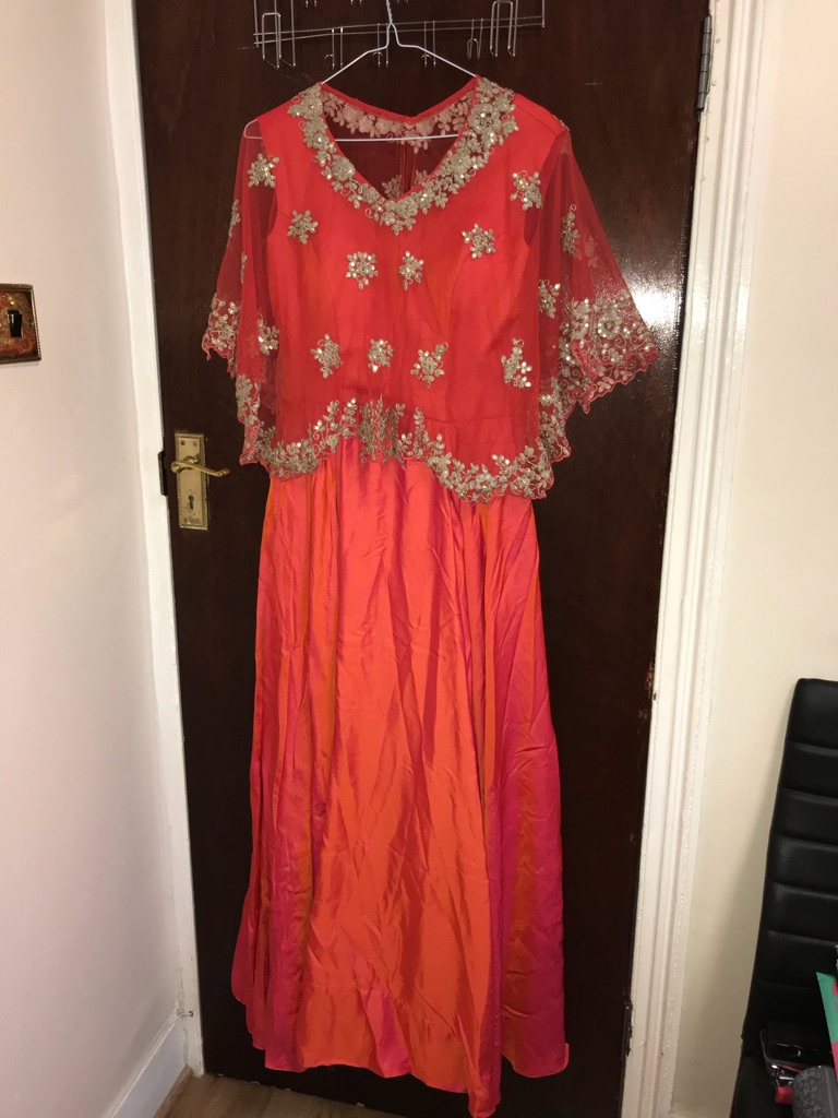 Indo-western occasion party dress/gown (brand new)