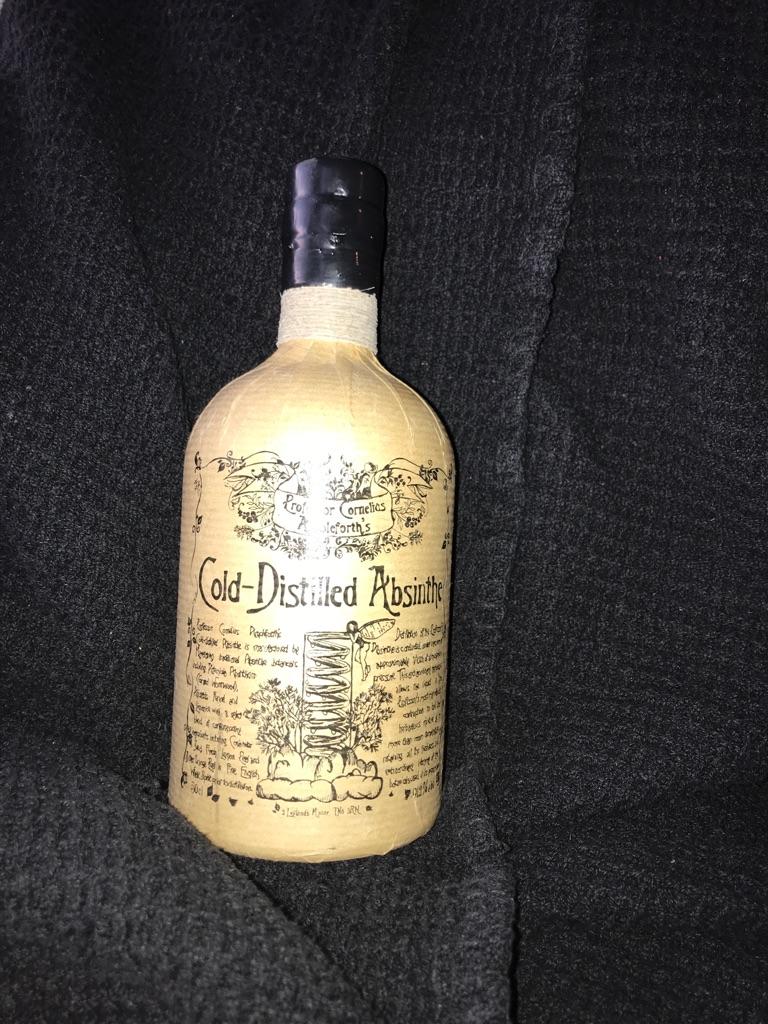91.2% cold distilled absinthe!