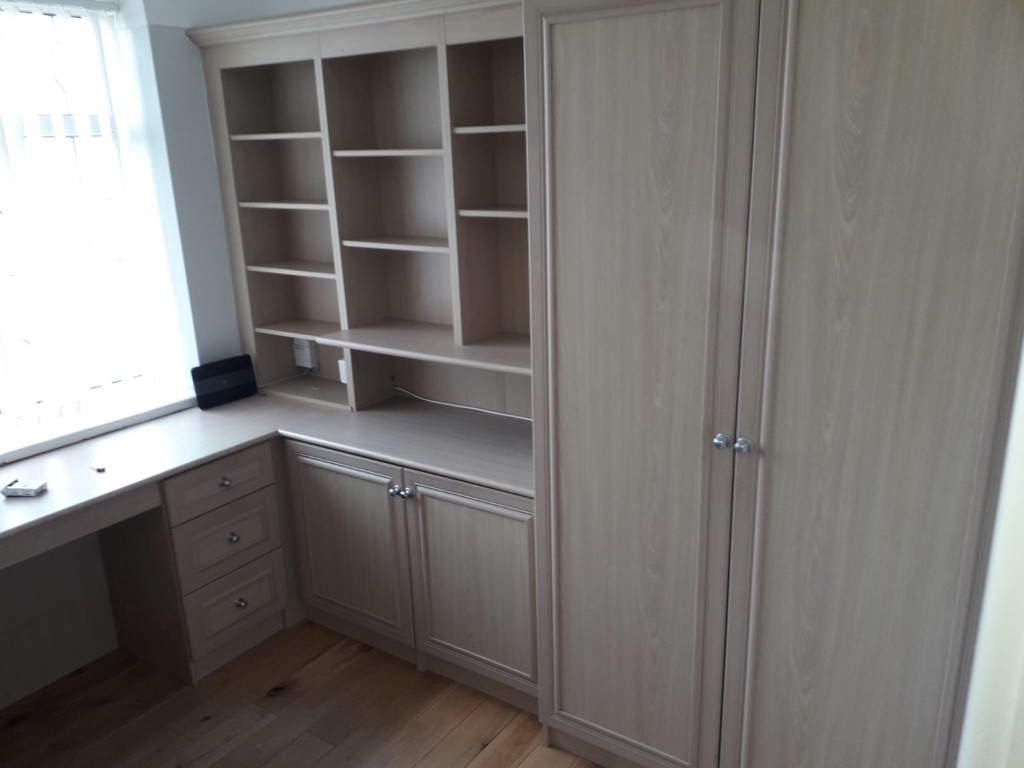 Wardrobes and draws