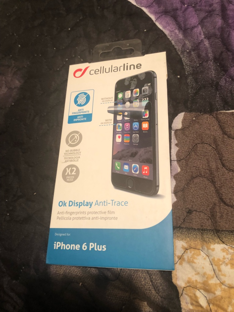Cellularline screen protector for iPhone 6 Plus