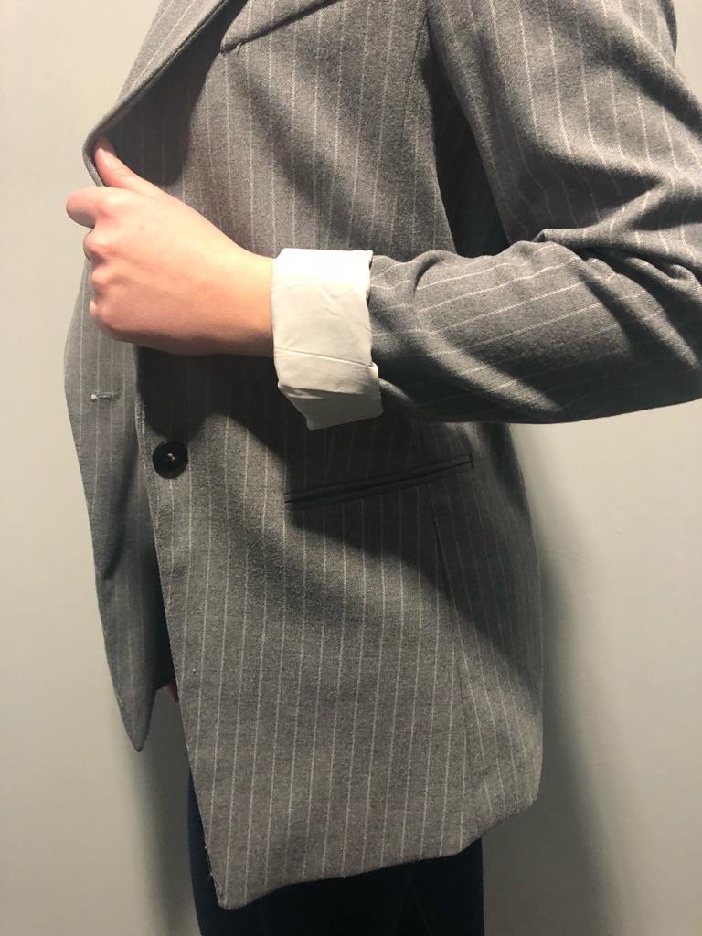 H&M Grey Blazer Jacket