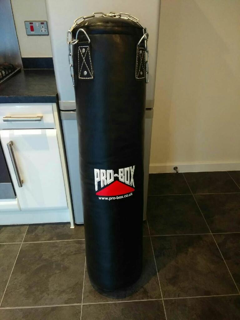 Pro-Box 30kg 4ft leather punchbag