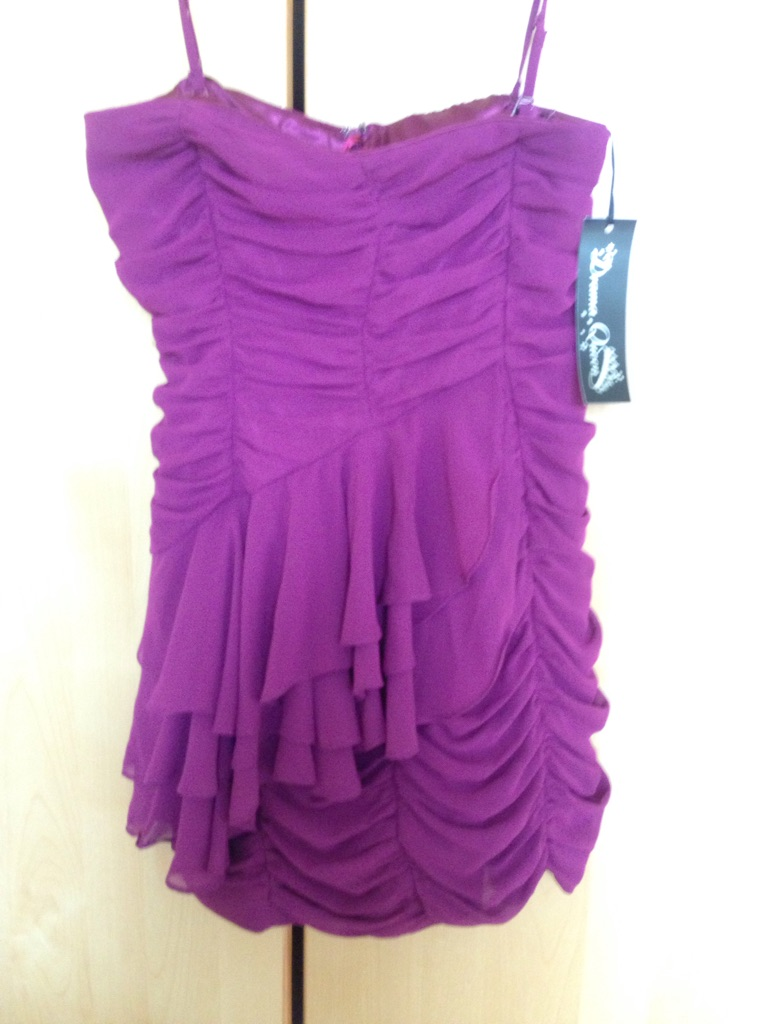 Purple size 10 dress BRAND NEW
