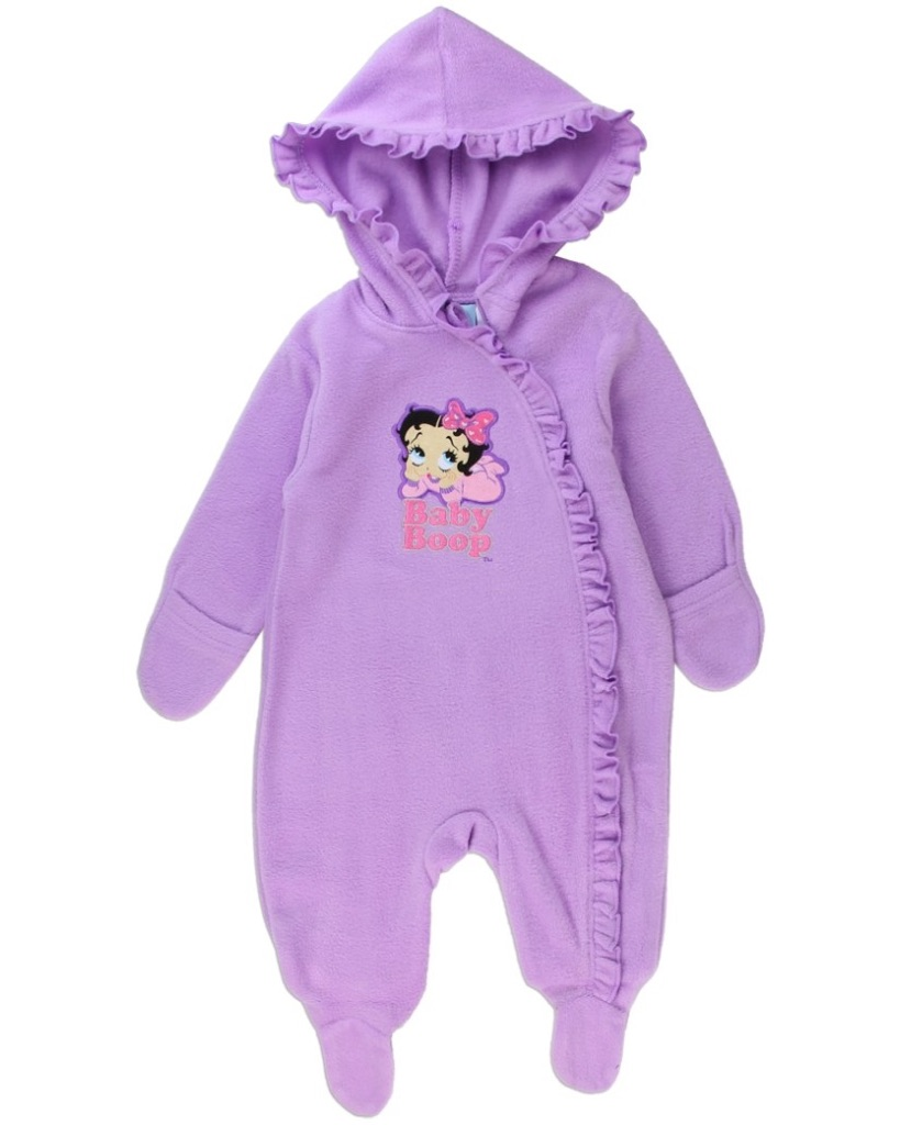 BETTY BOOP POLAR FLEECE