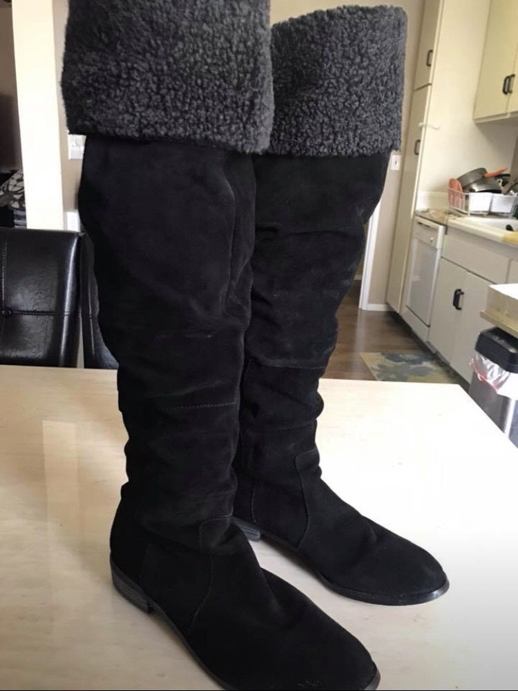 Nice Suede Women's Boots