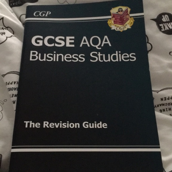 GCSE AQA business studies revision book