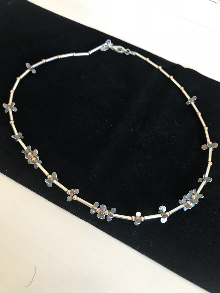 Ladies sterling silver necklace