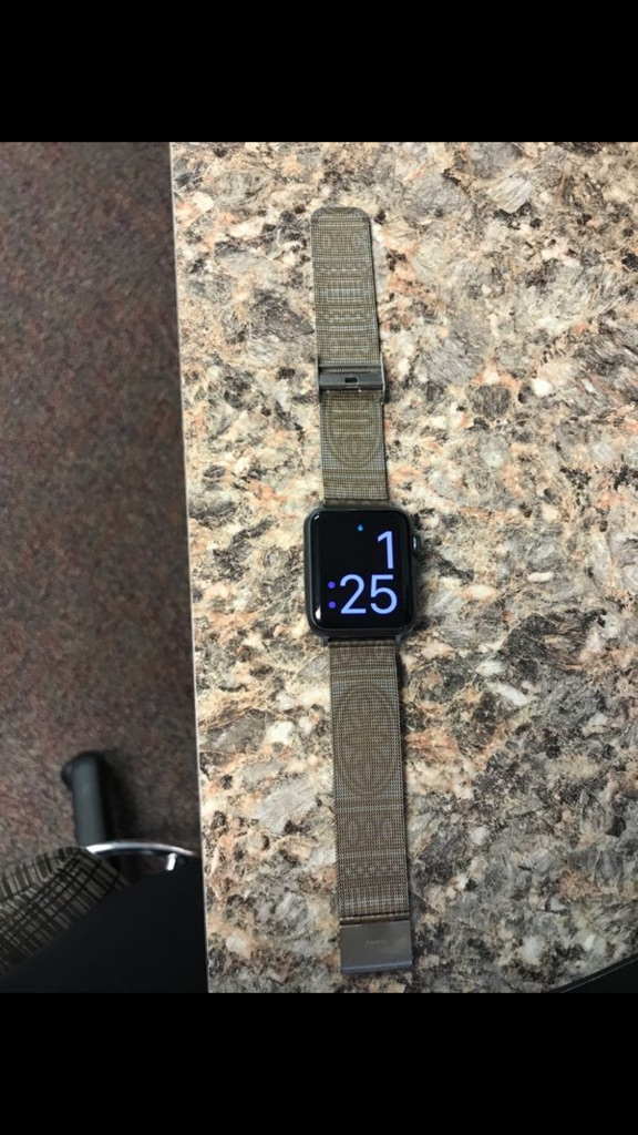 Apple Iwatch. Series one pro sport