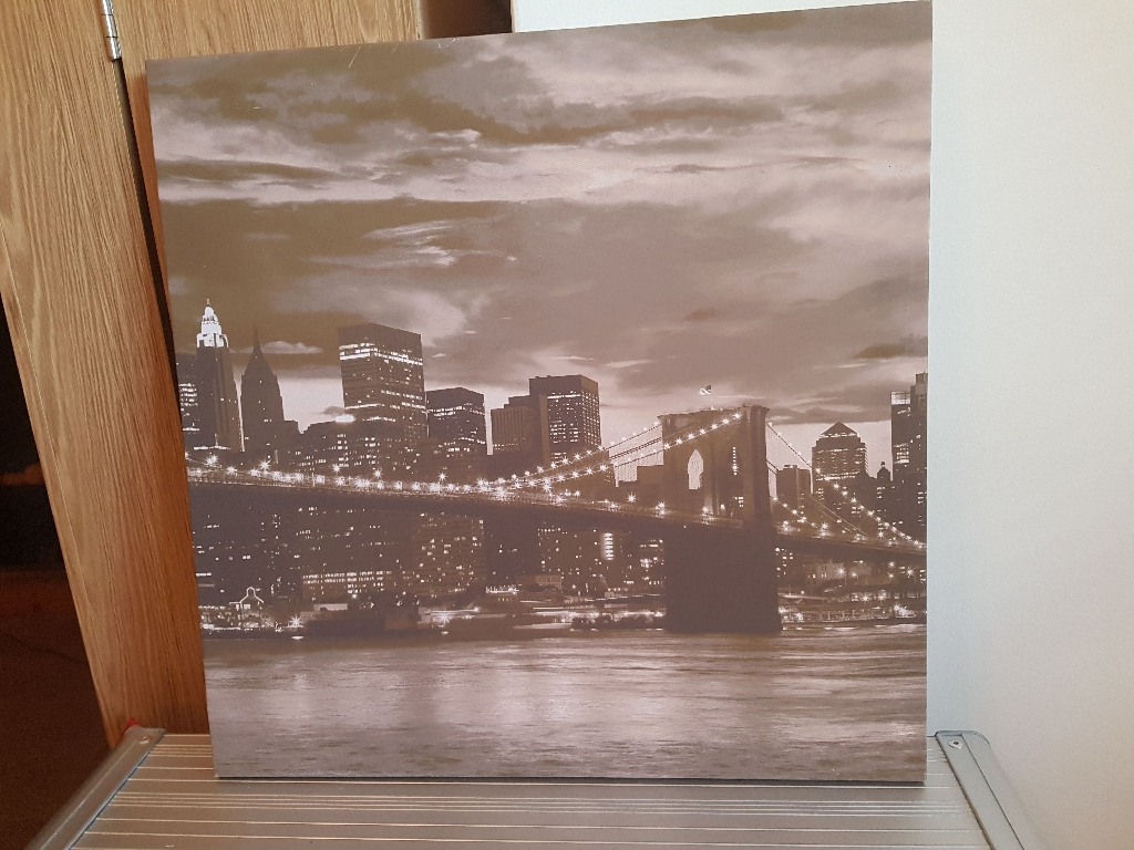 Canvas style pictures - various sizes/prices
