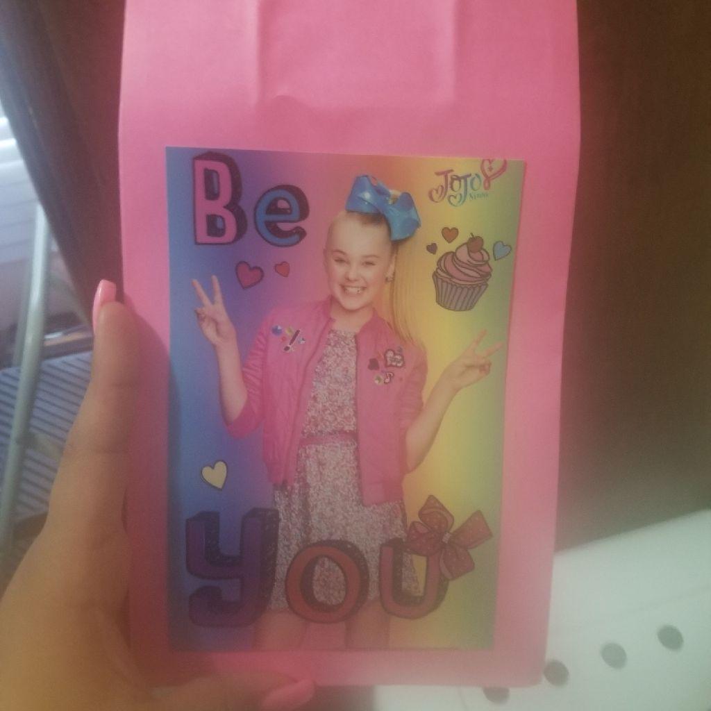 Custom made jojo siwa goody bags