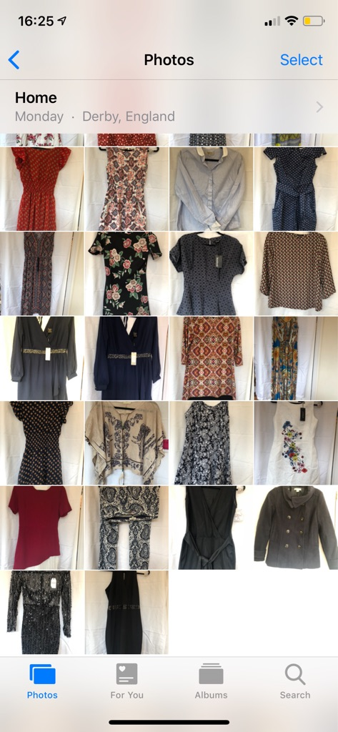 Mixed ladies sizes 8/10/12