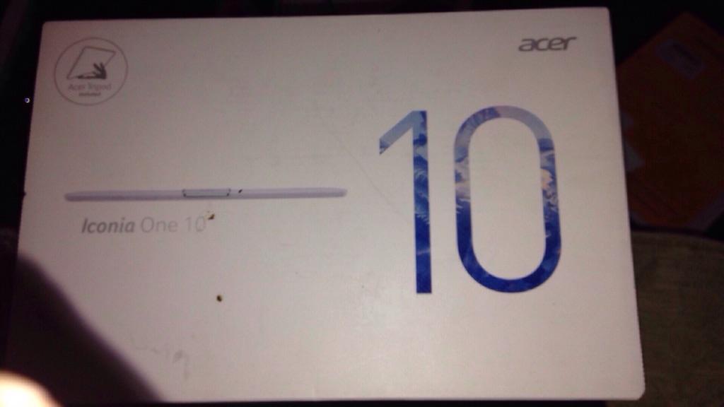 "Iconia One 10"""