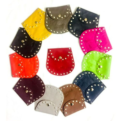 Womans/Ladies Real Leather Coin/Jewellery Purse/pouch