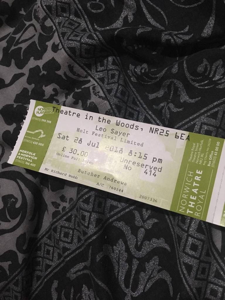 Leo Sayer concert tickets