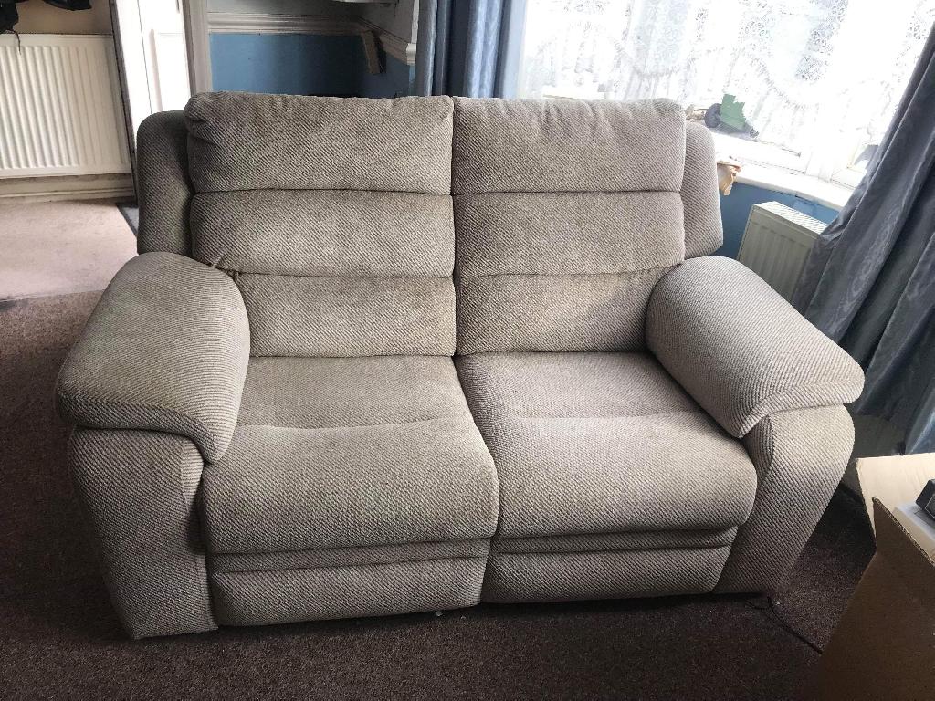 Recliner 2 seater sofa
