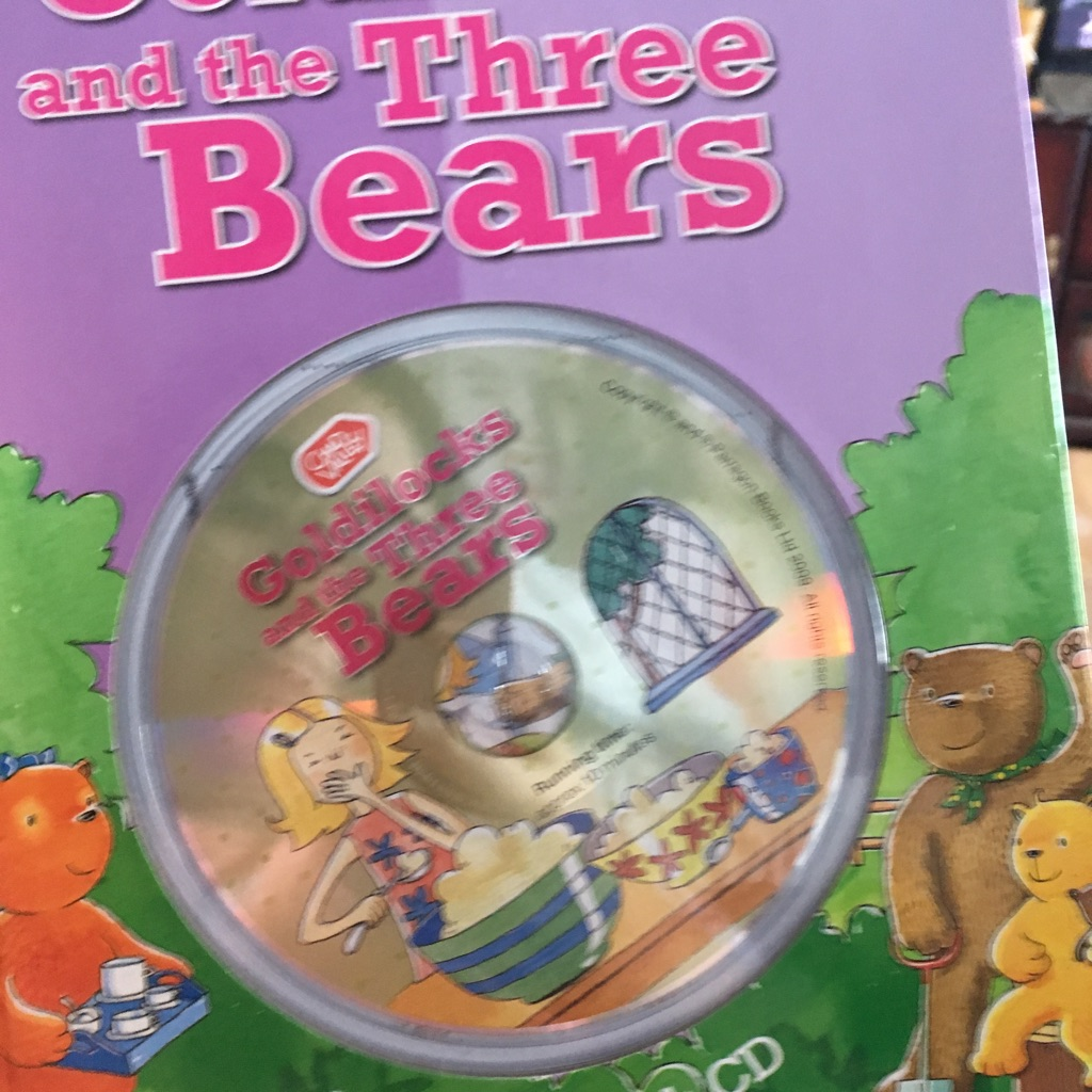Goldilocks and the three bears with cd