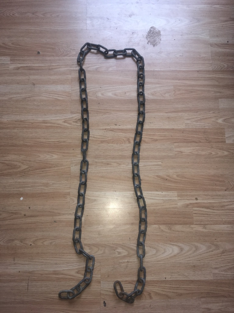 Bike chain 2m uncuttable