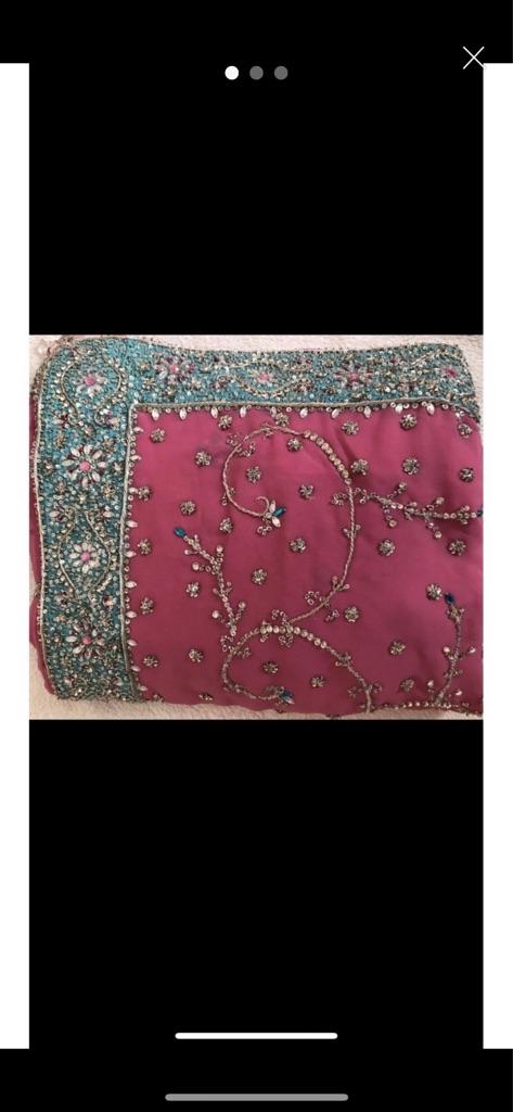 NEW Heavy Embroidery Saree