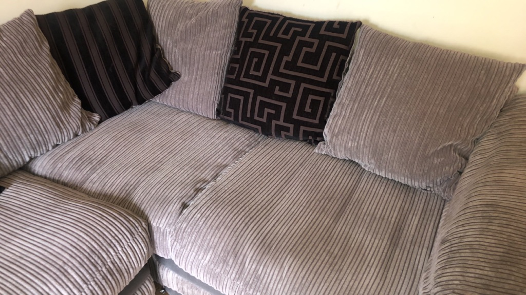 Dfs left handed corner sofa