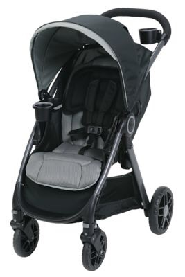 Graco Fastaction DLX Stroller and Car seat