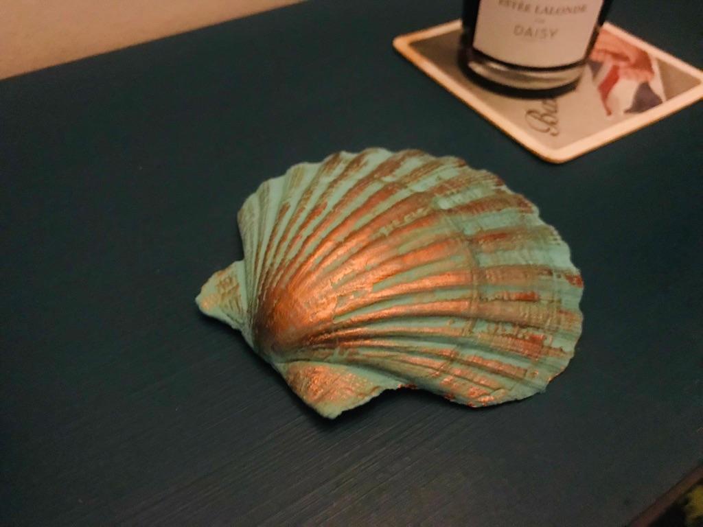 Handmade Scallop Shell Trinket Bowls