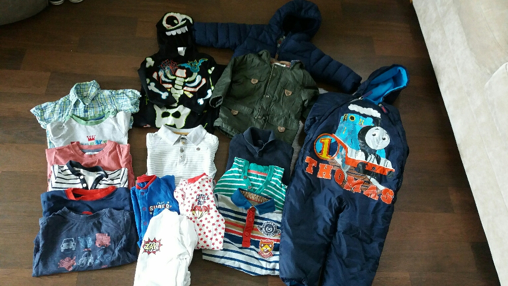 Boys clothes bundle 12-18mths