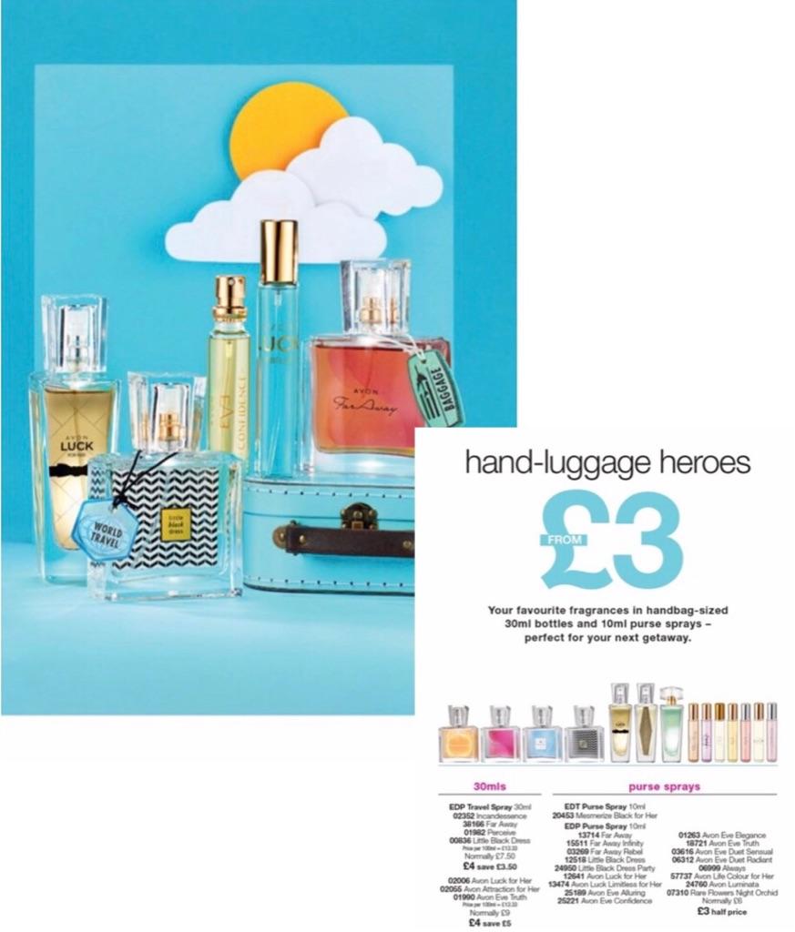 Handbag fragrances