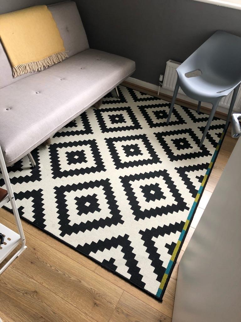 Rug 200cm x 200cm - Lappljung Ruta IKEA