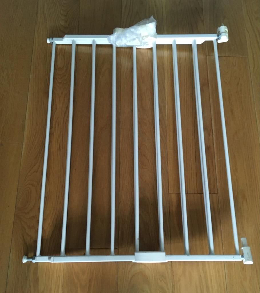 Lindam stair gate white min 63.5cm max 102cm