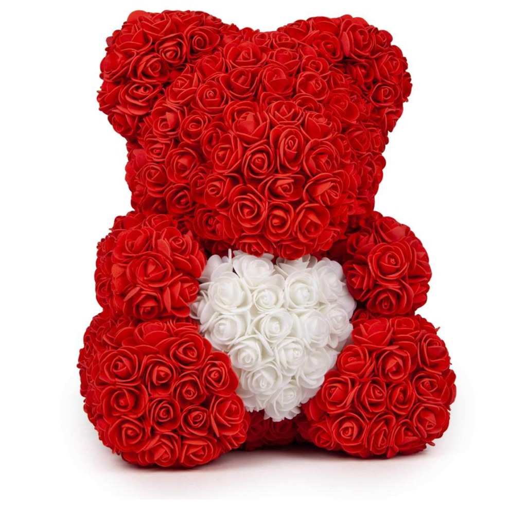 Flowers made of teddy bears