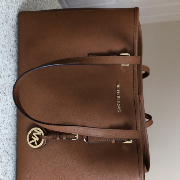 Genuine MK brown tote bag