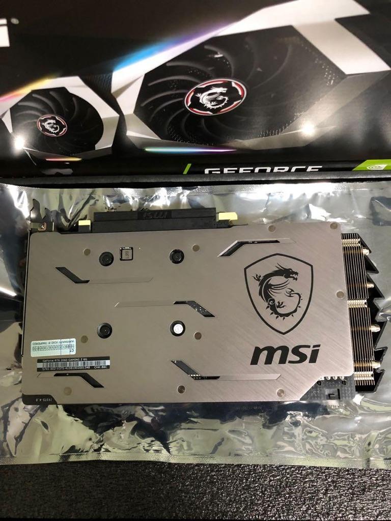 MSI RTX 2060 Gaming Z