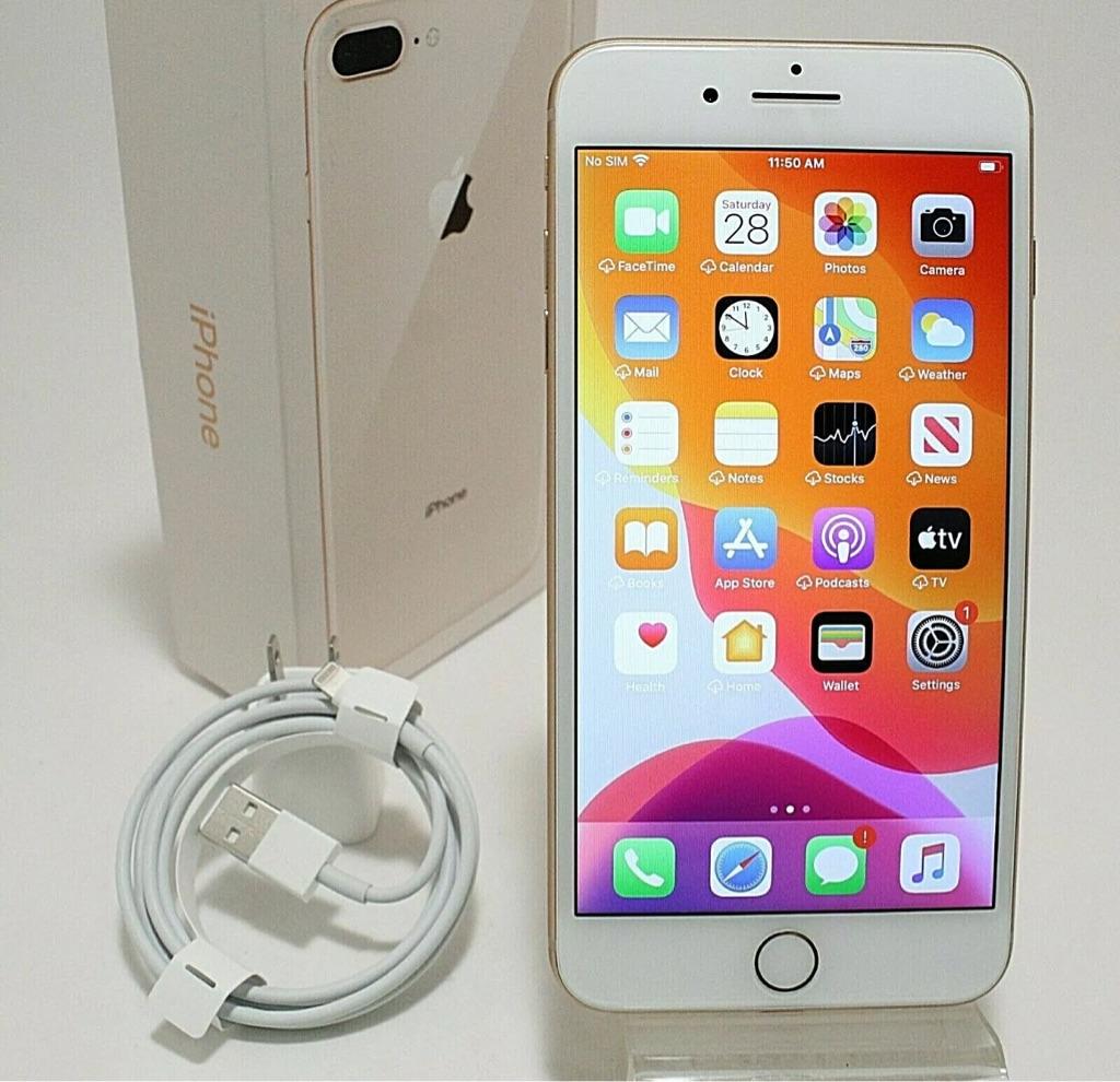 Rose Gold Apple iPhone 8 Plus - 256GB (Unlocked)