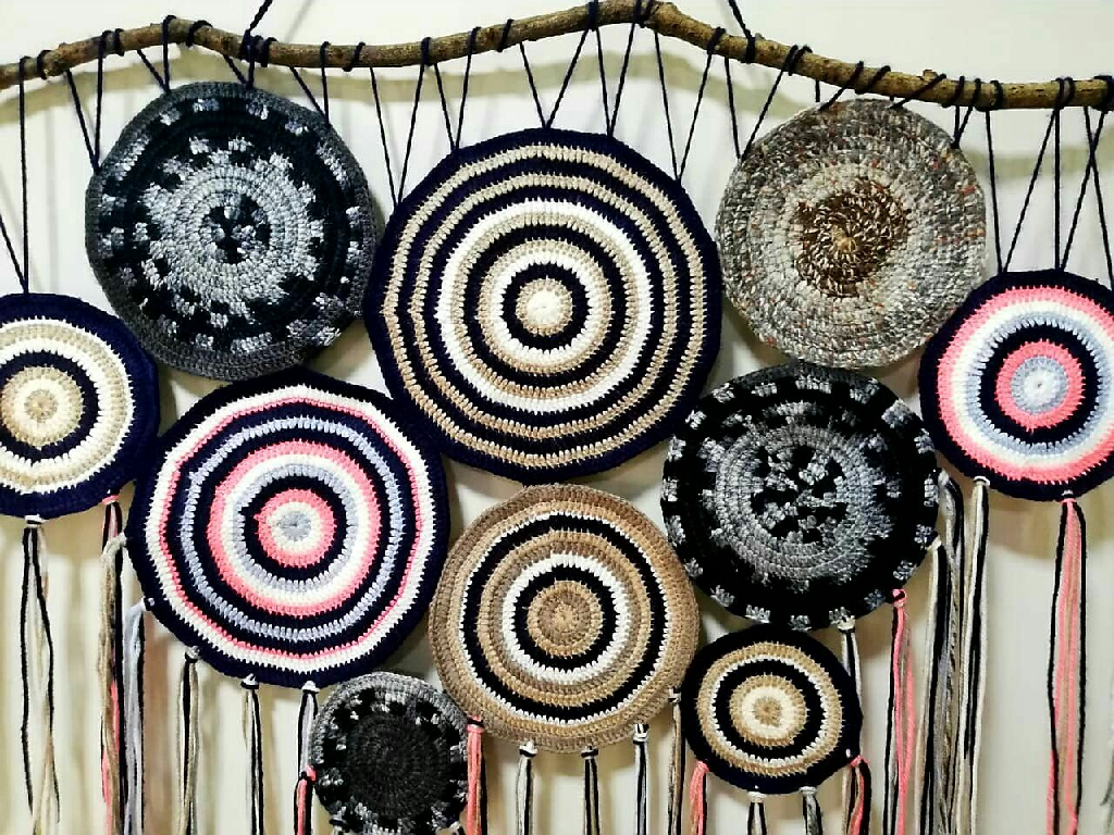 Made in pakistan Mandala large crochet round wall decor-Homesthetics- Inspiring ideas for your home