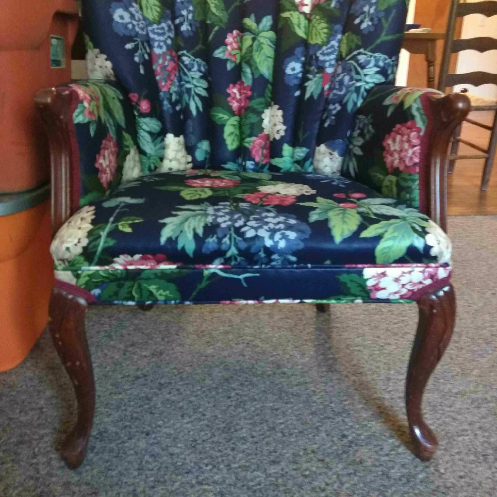 Custum Made Wing Back Chair