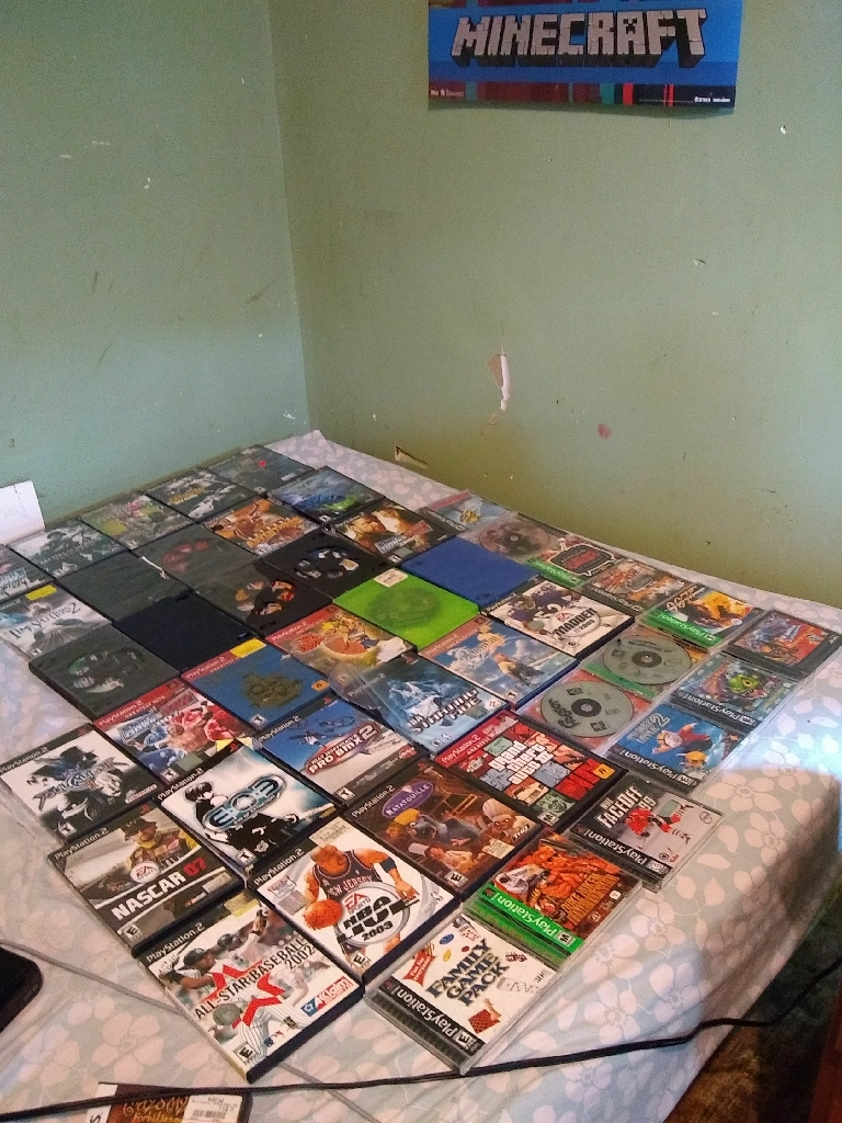 PlayStation 2 games) console