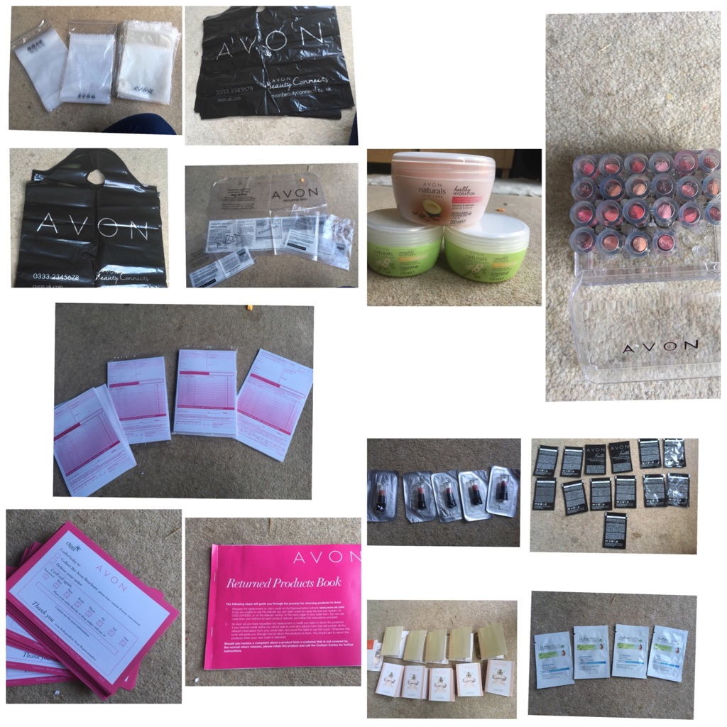 Job lot of Avon Rep Essentials