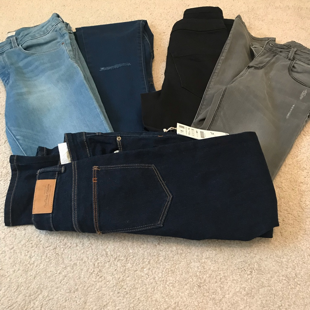 Girls Zara jeans