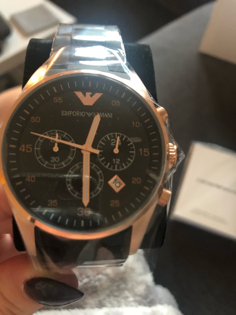 Genuine men's Armani Watch!