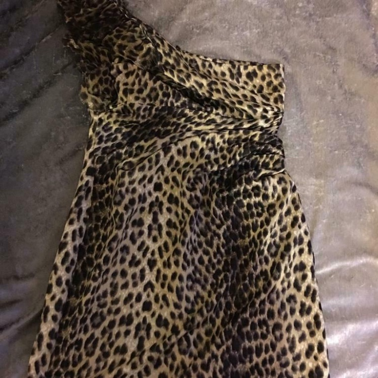 Lipsy one shoulder fitted size 12