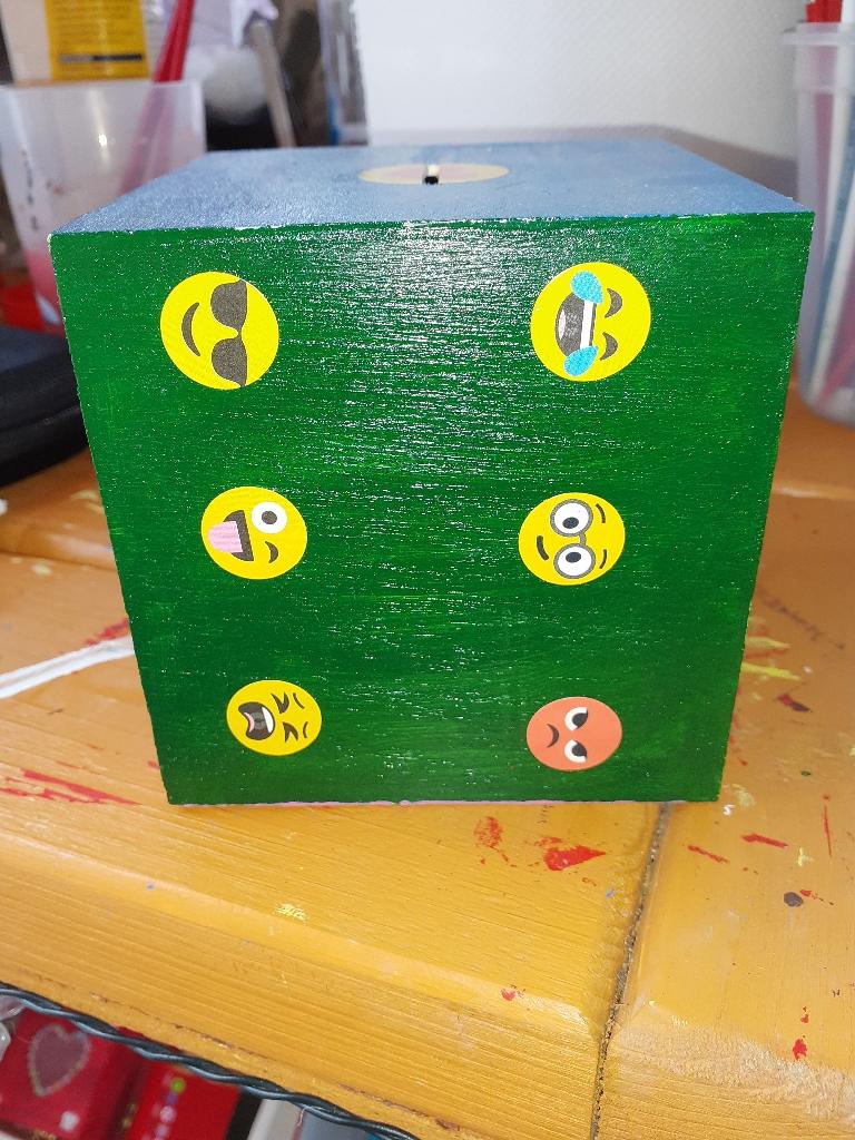 Hand made money box