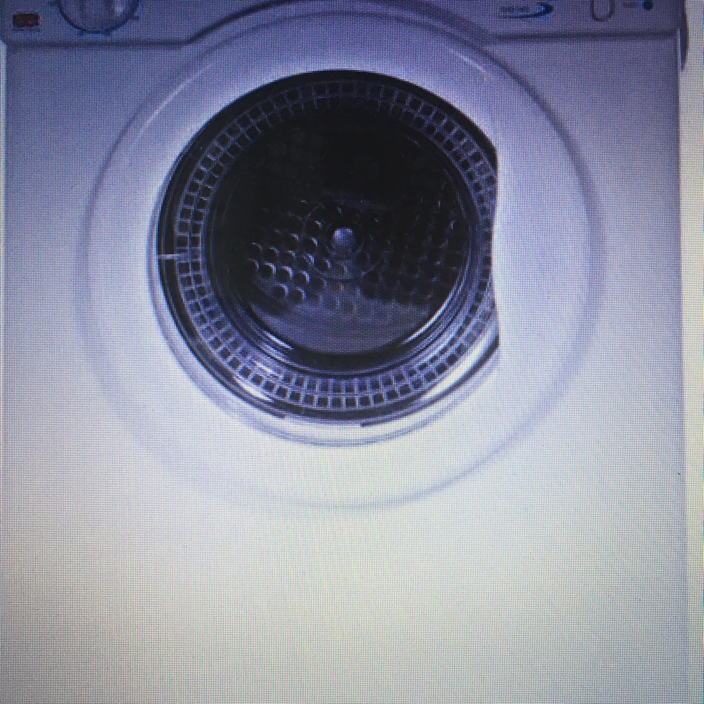 New White Knight C37Aw Compact 3Kg Uni-Directional Tumble Dryer