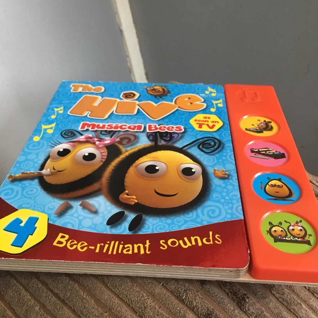 The hive musical bees book