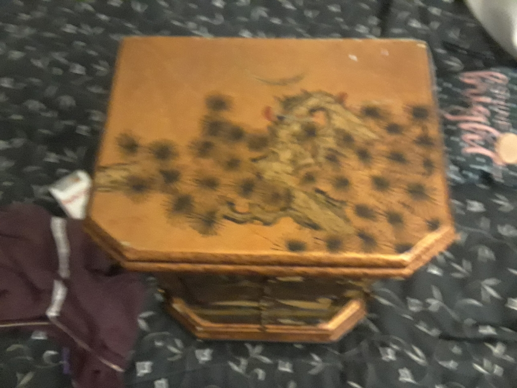 Chinese jewelery box