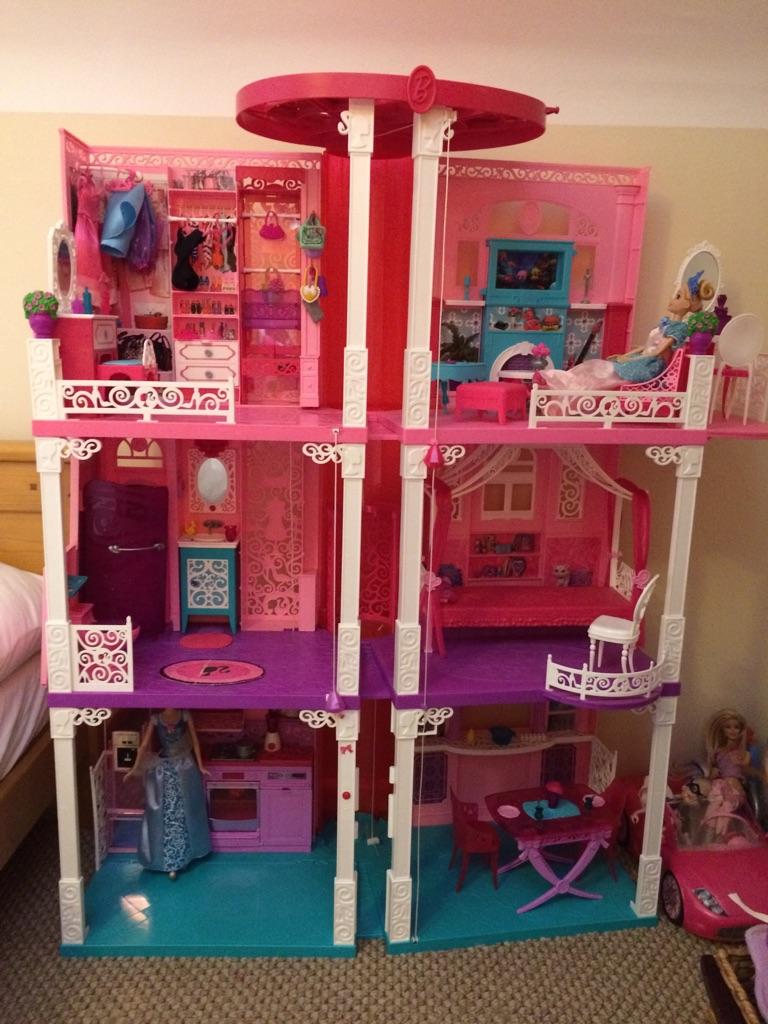 Extremely rare light & sound Barbie Dream House