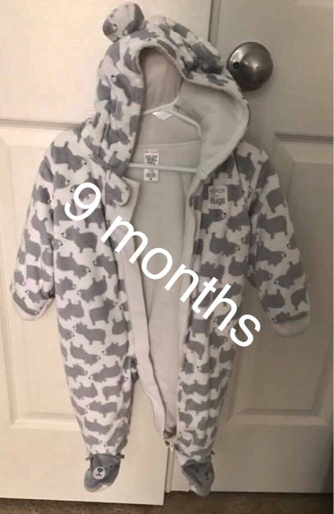 Carter's snowsuit