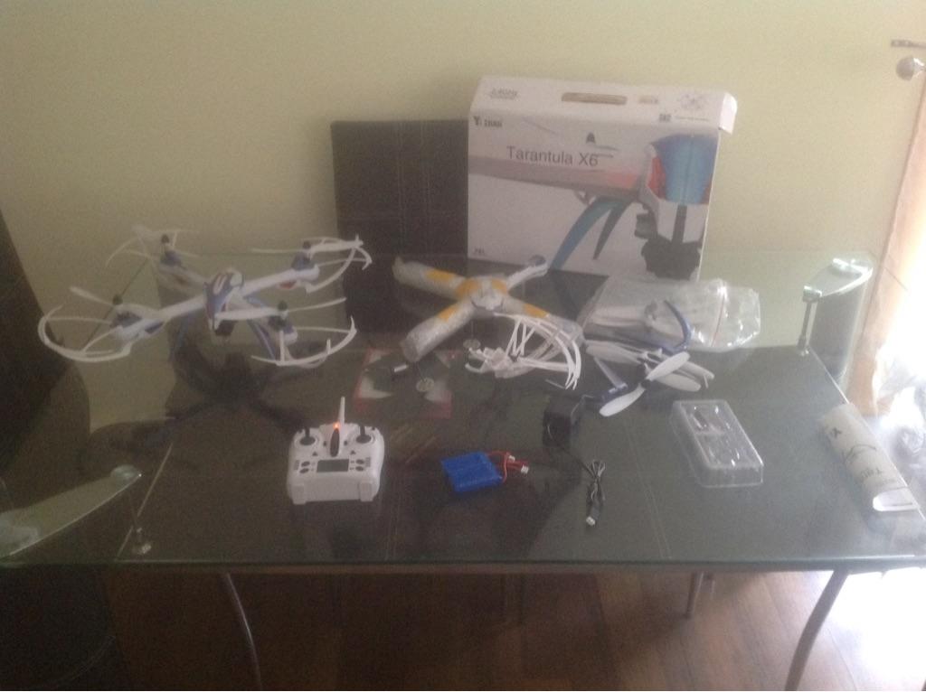 Tarantula drone