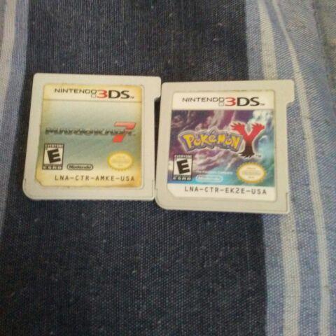 Pokemon Y & Mario Kart 7