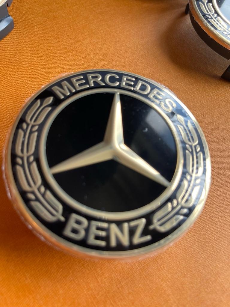 Mercedes alloy wheels center caps 75mm
